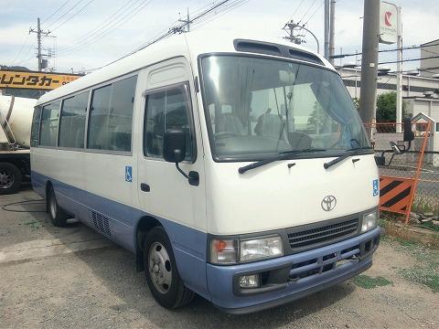 トヨタコースターバス平成15年式