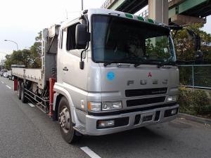 三菱ふそうスーパーグレートクレーン車平成12年